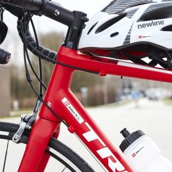nuevo estilo de vida ahorre hasta 80% producto caliente Pegatinas para bicicletas con su nombre y bandera